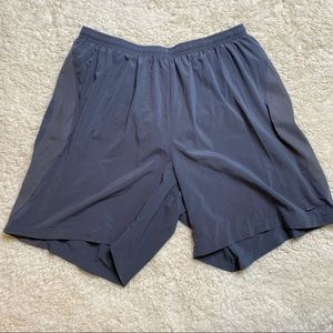 Nike Gray Athletic Shorts with liner XL